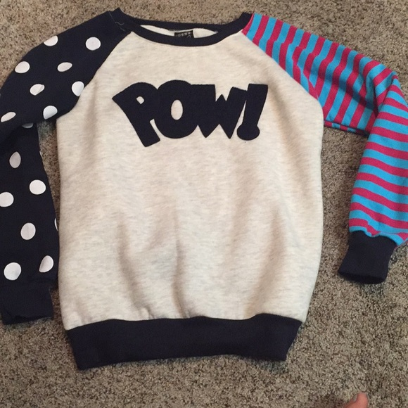 Whimsical POW! Sweater